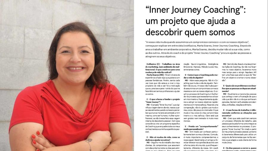 """""""Inner Journey Coaching"""": um projeto que ajuda a descobrir quem somos"""